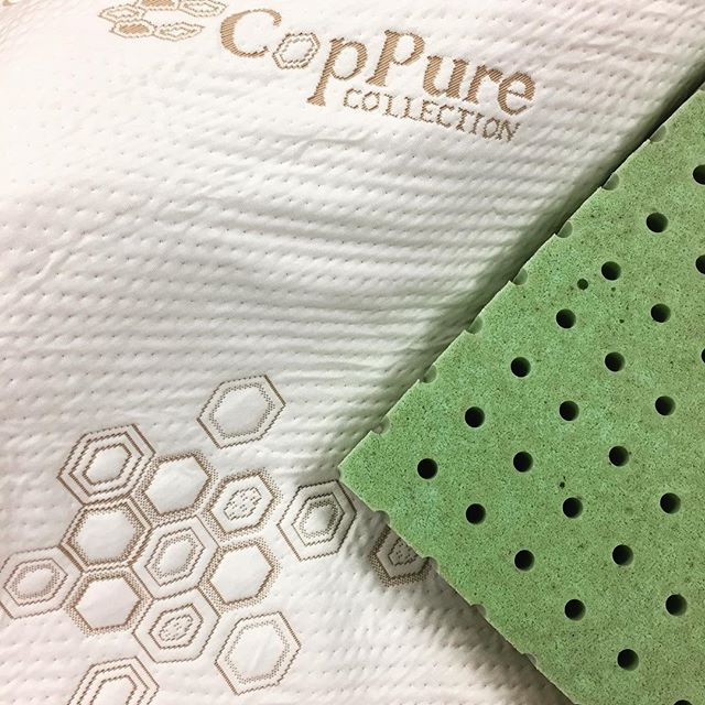 Best combination for the perfect sleep #CopPure #grandrapidsbedding #health #feelinggood #healthylifestyle #coppermattress  #copper #copperlatex