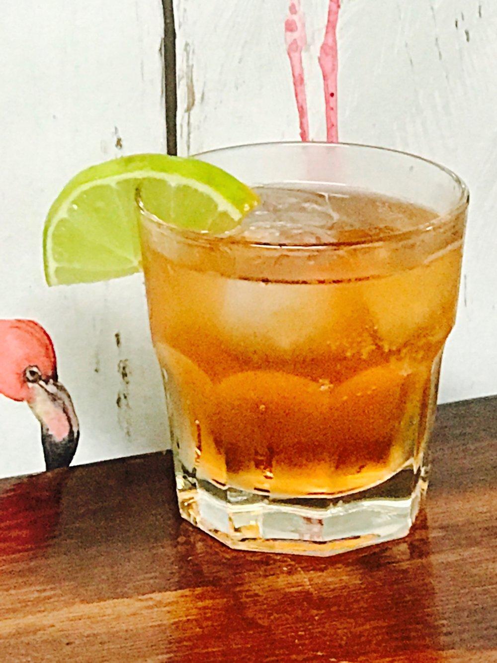 BUSHWICK BUCK $8 - Mezcal,Ginger Beer, Angostura Bitters
