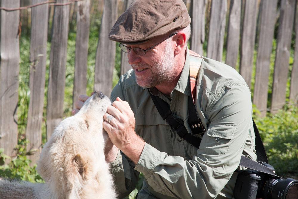 Rainer perro Svaneti.jpg
