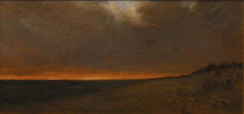 Small Sunset 5x11 oil