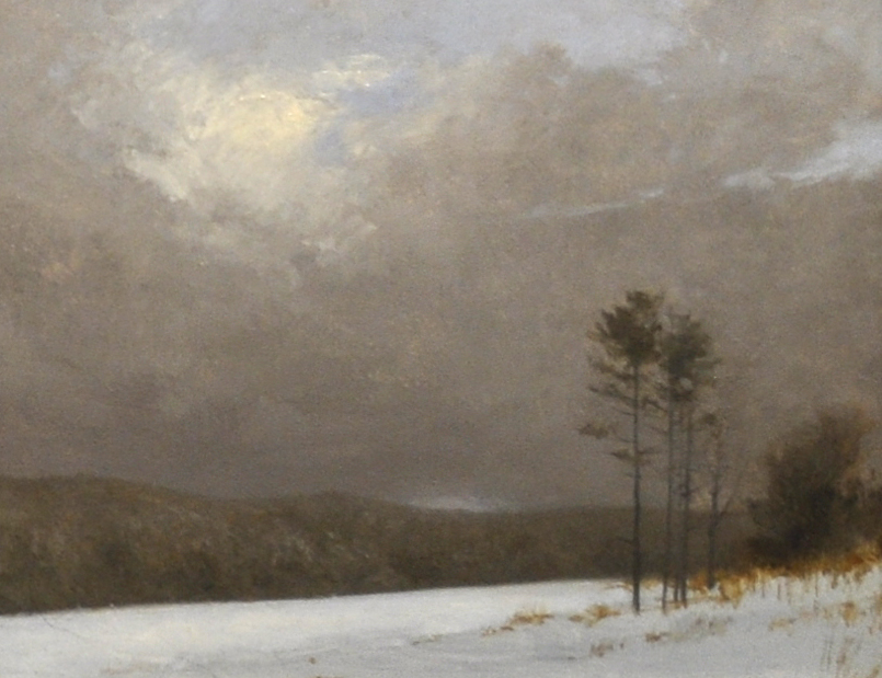 Winter Scene 7x9 oil
