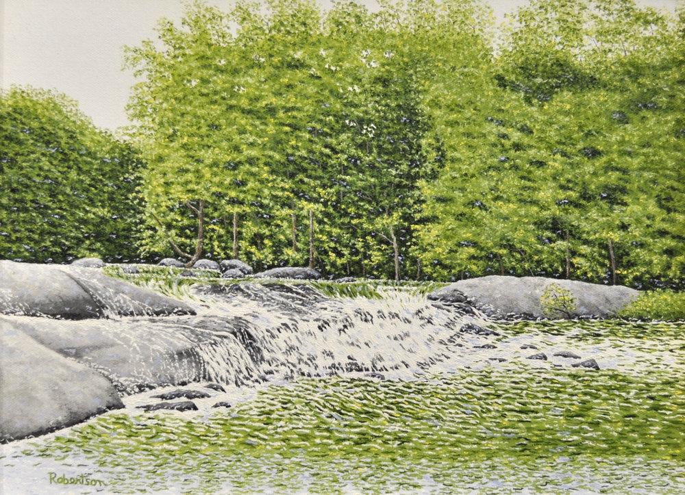 - River oil 12x16