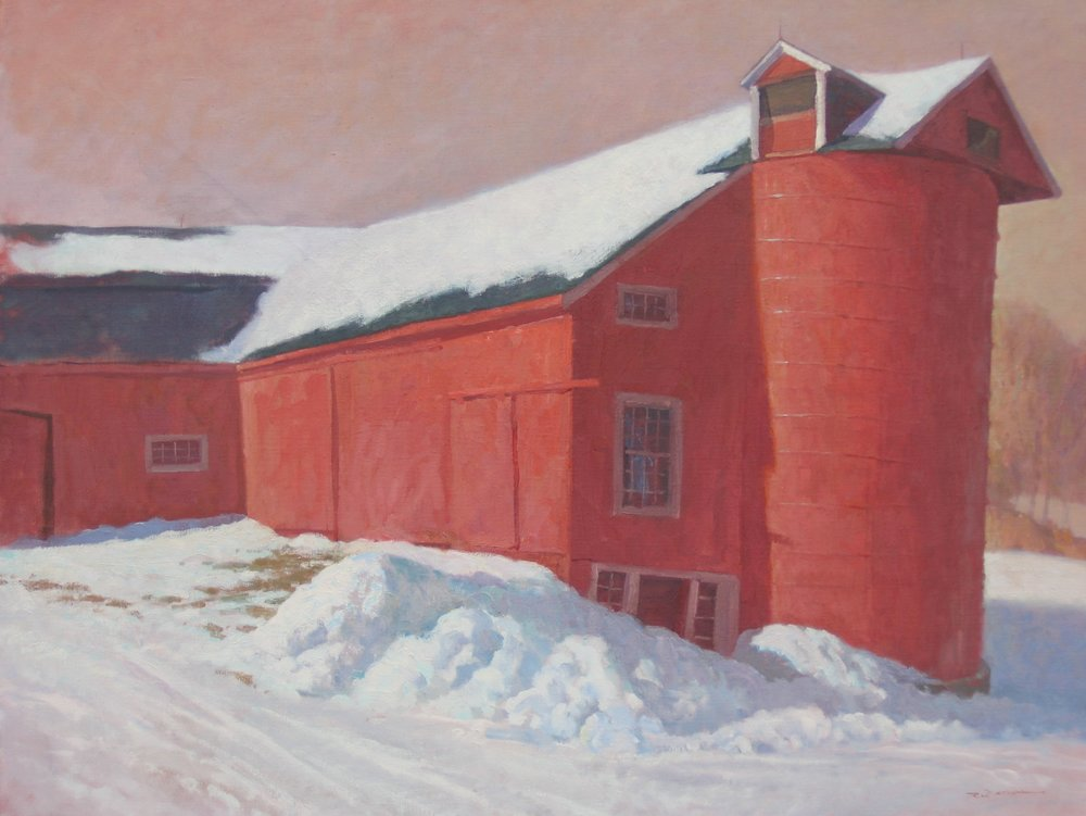 Tilting Barn  24 x 30 Oil