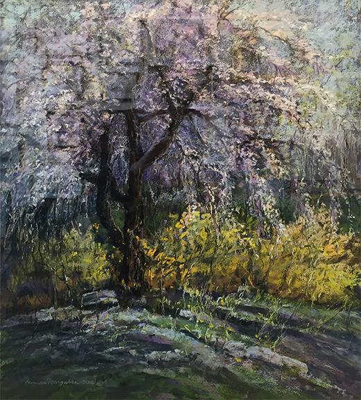 Herman Margulies pastel