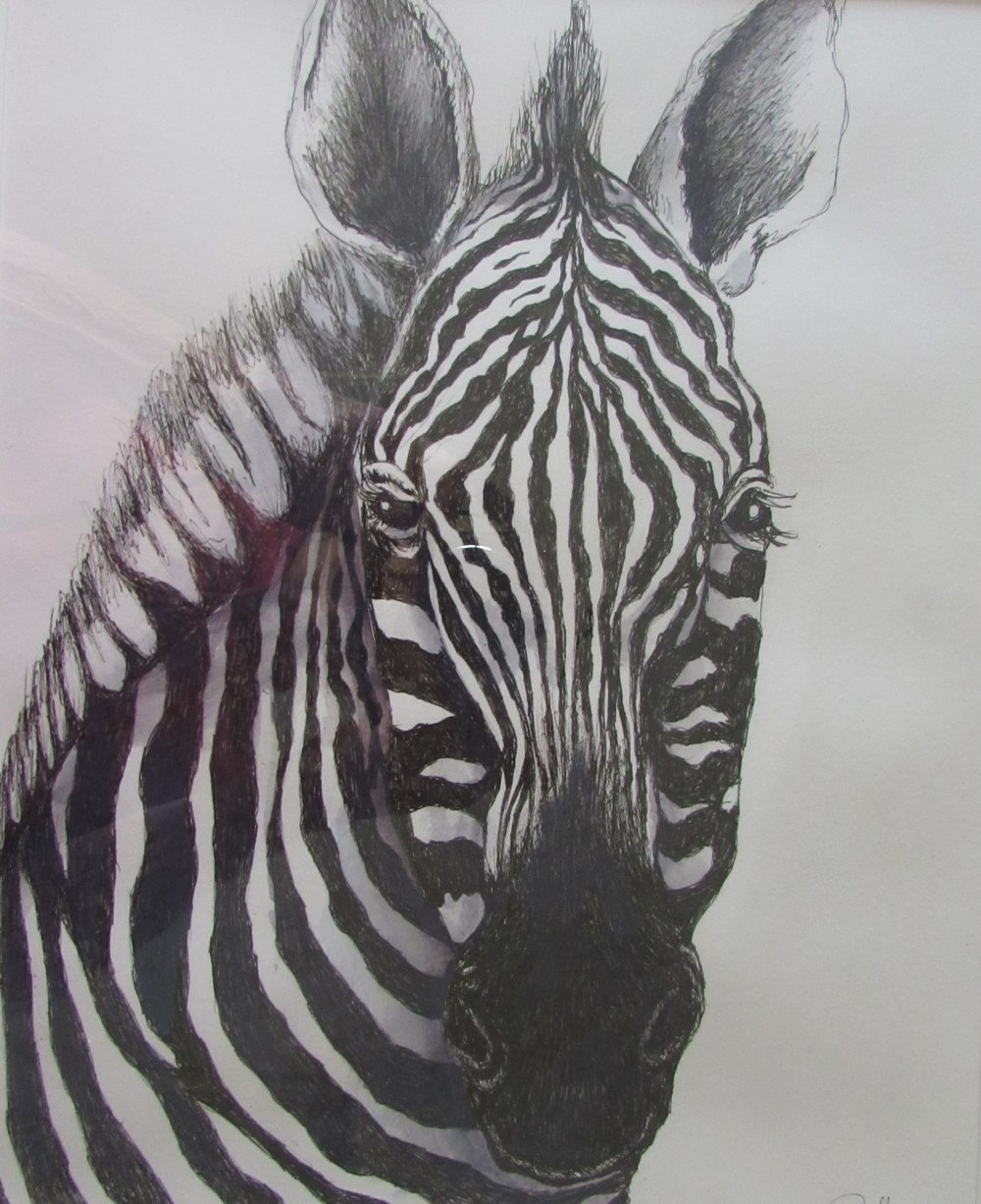 Zebra wc