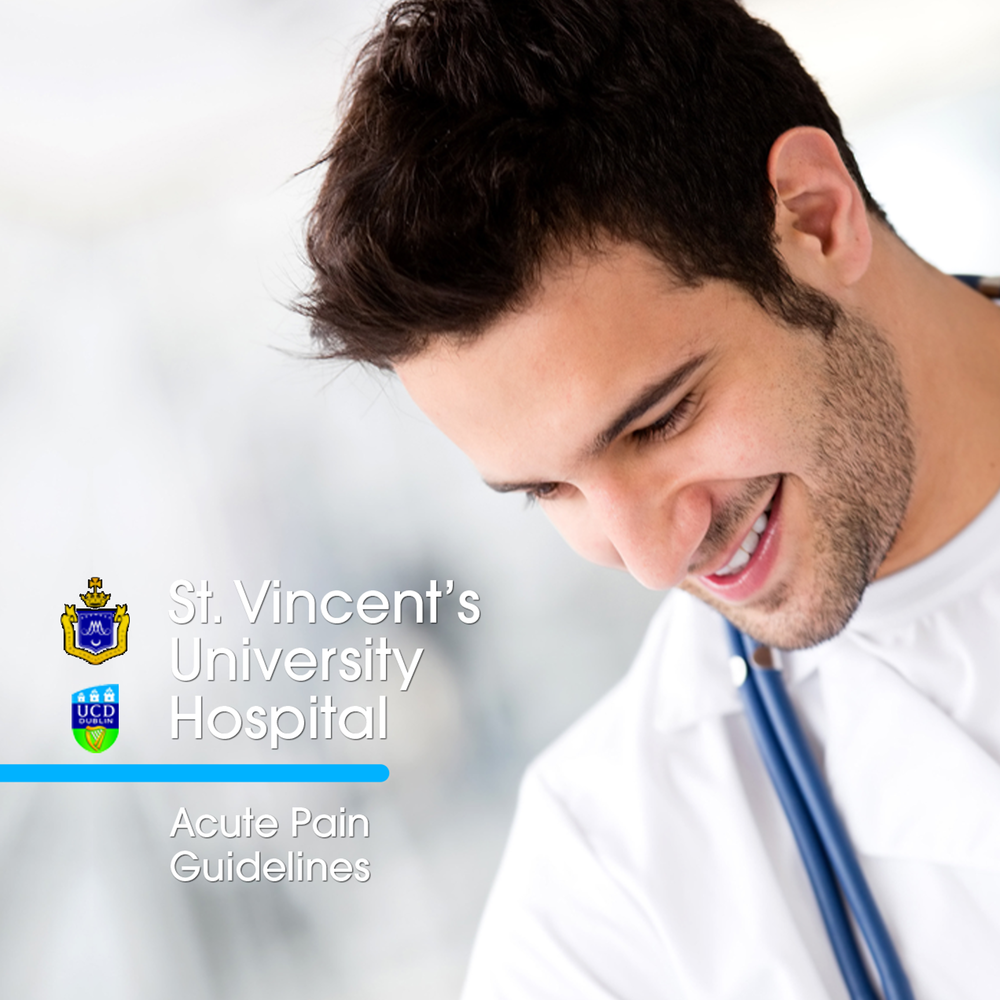St. Vincent's University Hospital, Dublin - Dr. Hugh Gallagher, Consultant Anaesthetist