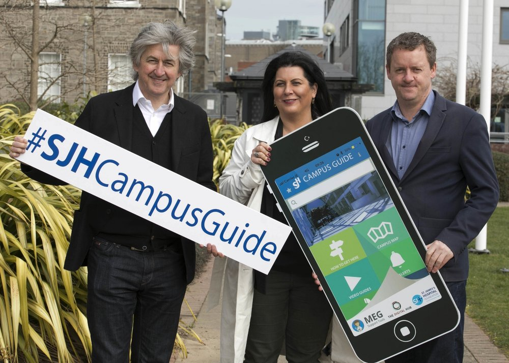 FIACH MAC CONGHAIL, CAROLINE VIGUIER (THE DIGITAL HUB) & KERRILL THONHILL (OF THIS PARISH!)