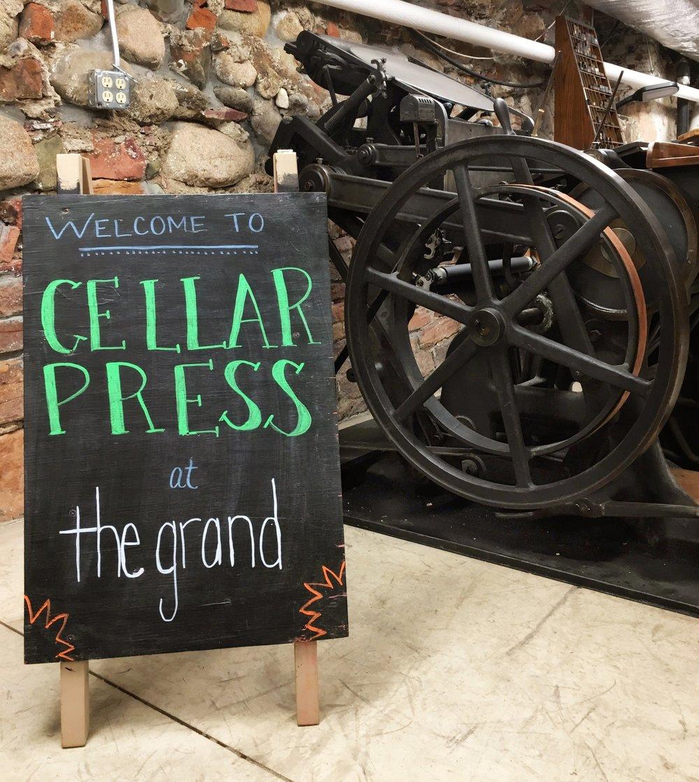 Cellar+Press+at+The+Grand+Center+for+Arts+%26+Culture