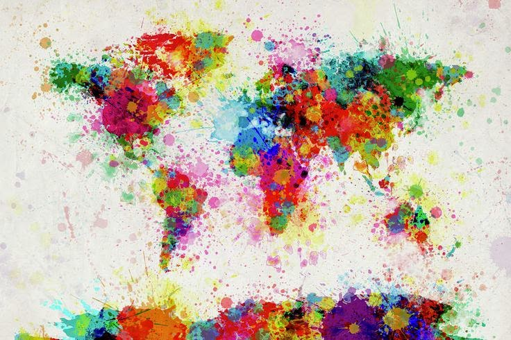 world-map-paint-drop-michael-tompsett