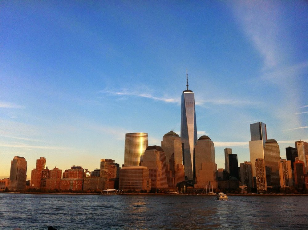 new york skyline freedom tower