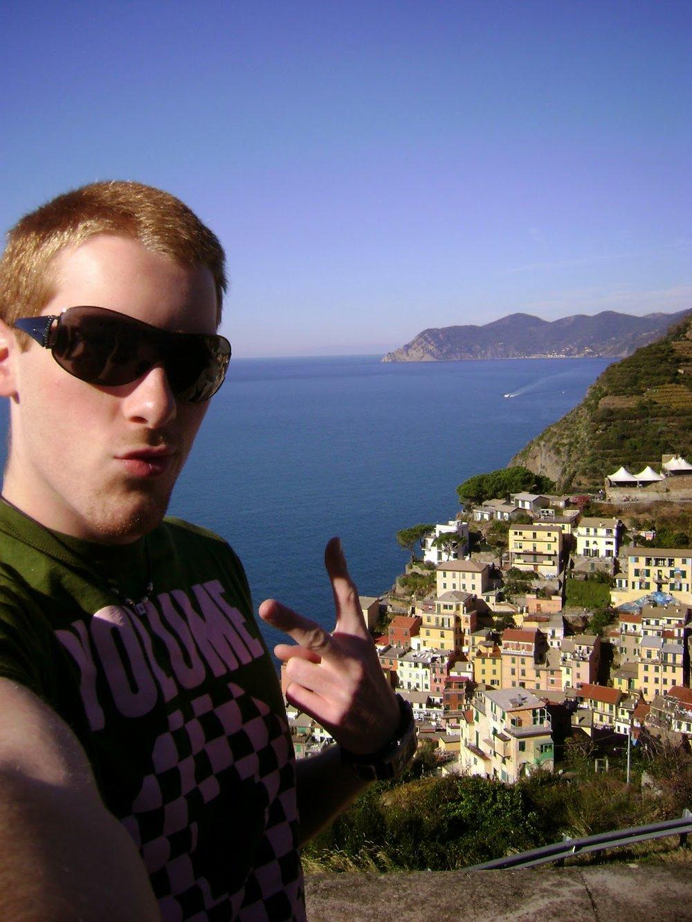 Riomaggiore in the Cinque Terre 2007