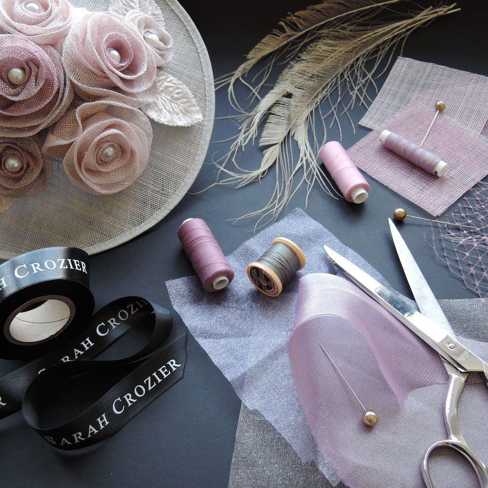 Sarah Crozier Colour Matched Millinery