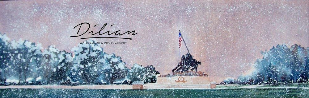 Iwo Jima Winter