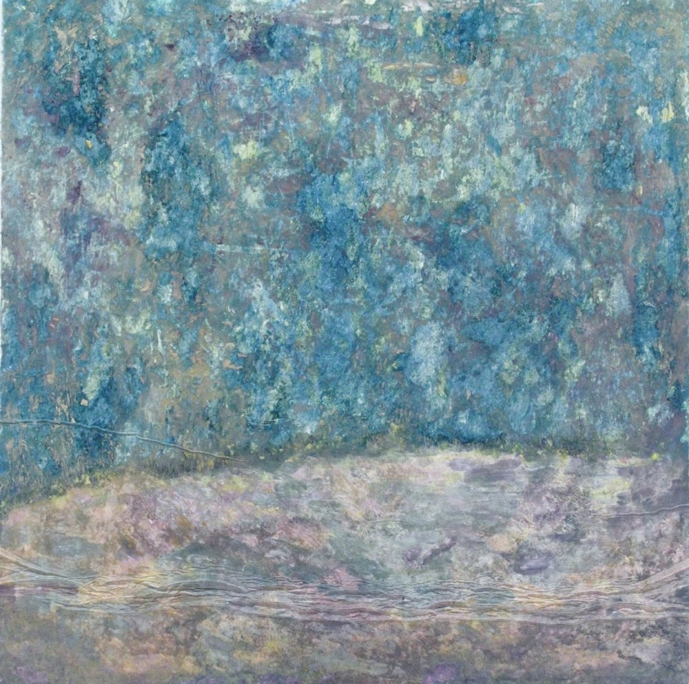 Maria Hughes.  Lavender on Provence , Monotype. $650.00