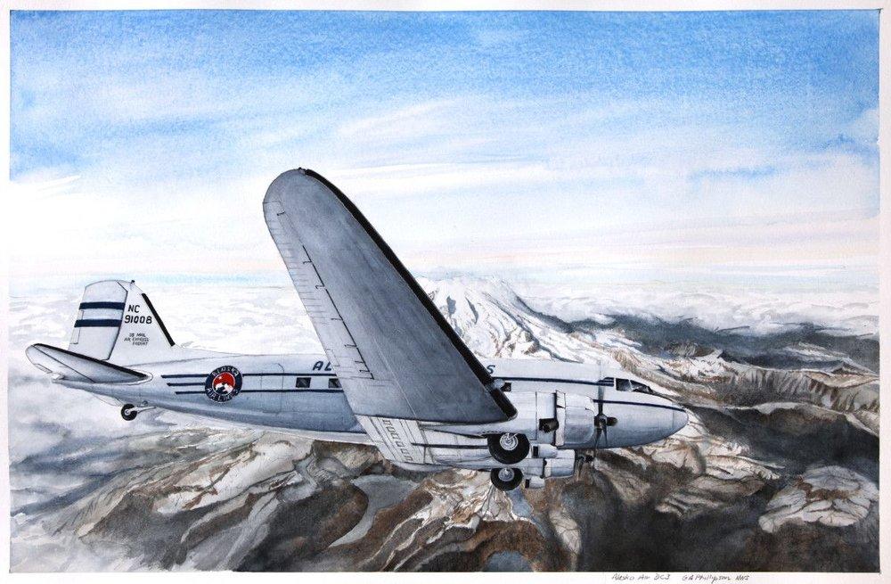 Alaska Airlines DC3