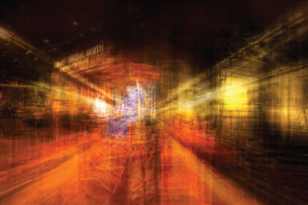 Alfonso Bonilla.  Grand Central North Line . C-print Varnished Photograph. 18 x 24 in. $2,000.00