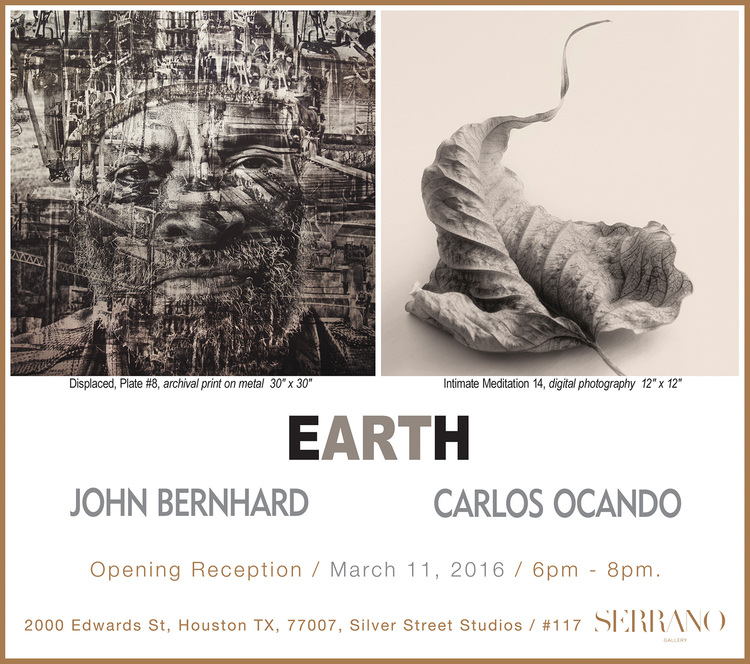 Earth: Works of John Bernhard and Carlos Ocando, Photographers