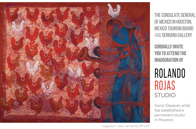 Rolando Rojas Studio Inaugural Event