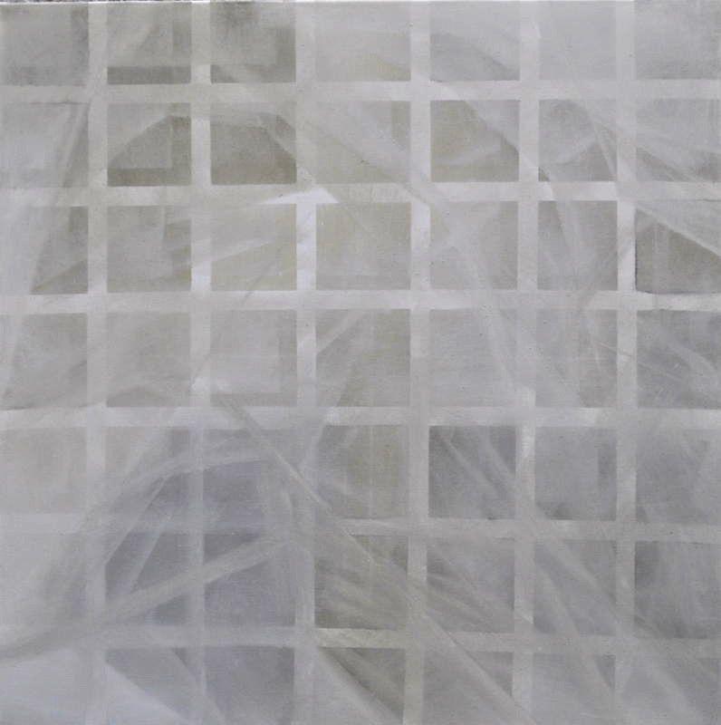 Isabel Gomez Gallardo.  Estudio 54-106 , Oil On Canvas. 48 x 48 in. $2,800.00