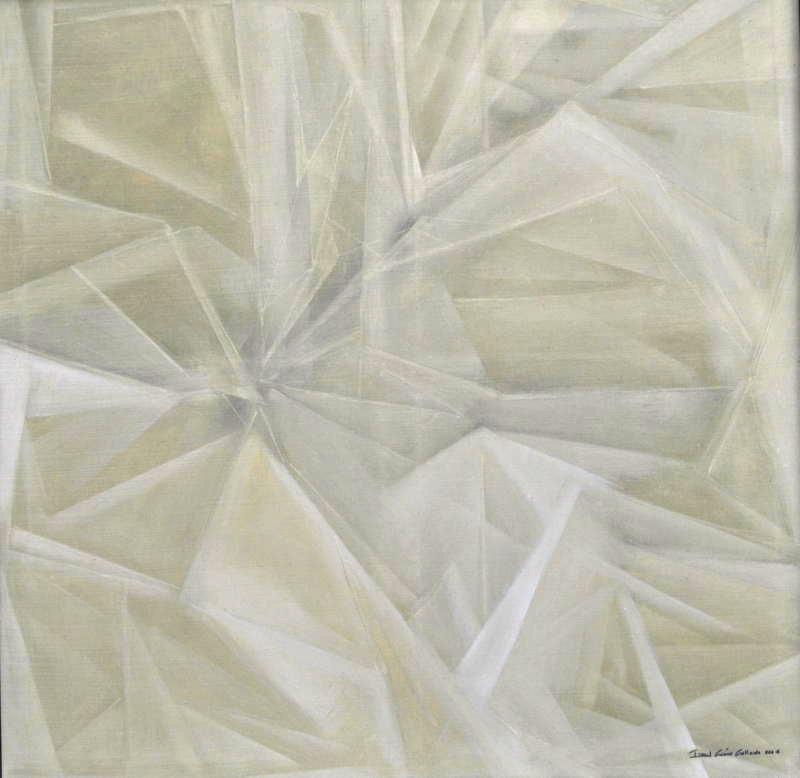 Isabel Gomez Gallardo.  Estudio48_005 , Oil On Canvas.48 x 48 in. SOLD.