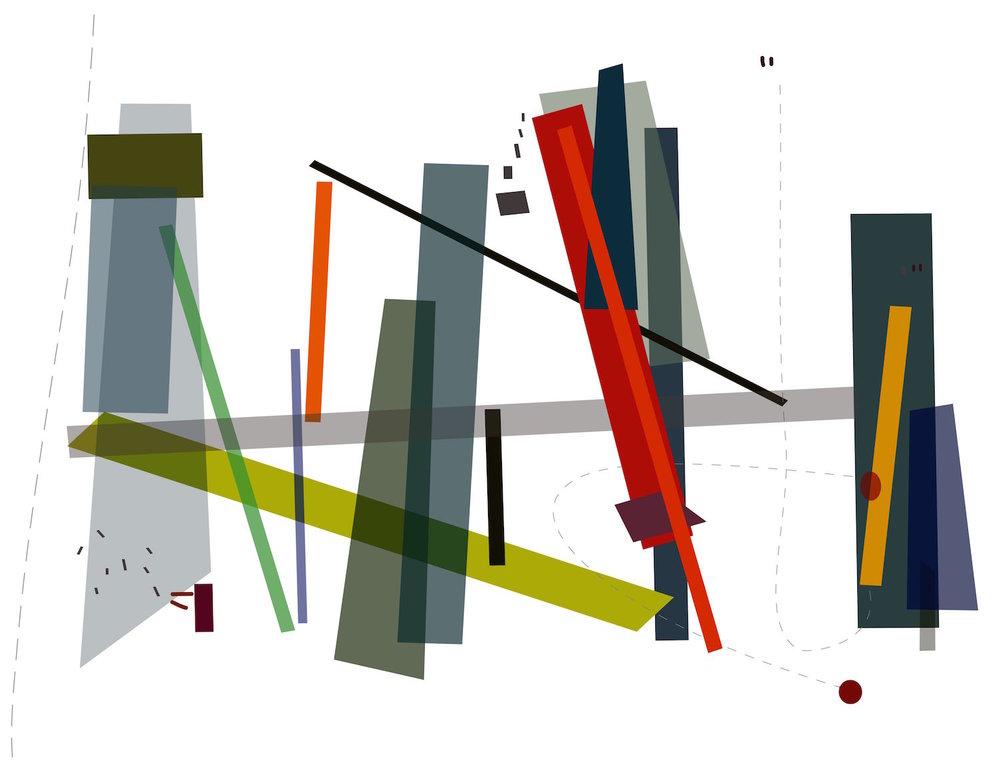 By Luisa Duarte. Danzantes. Archival Inkjet Print.