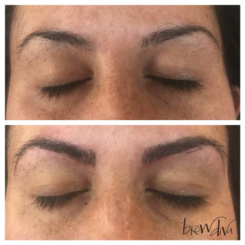 Microblading before and after 7