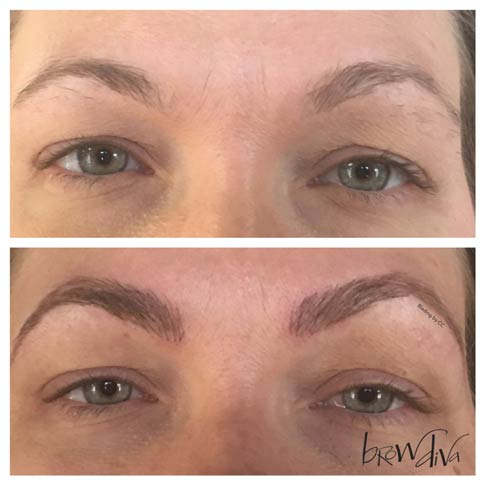 Microblading before and after 9