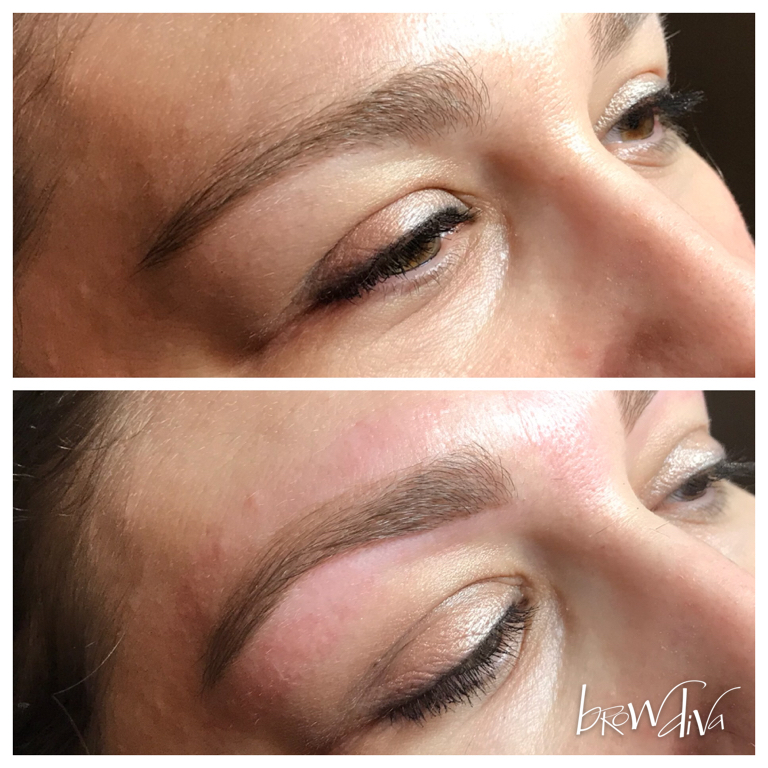 Brow Sculpting Before After Gallery Brow Diva