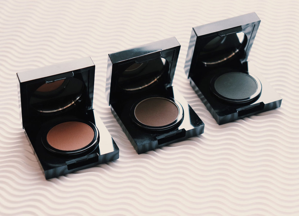 Brow Diva Makeup three Brow Powder shades
