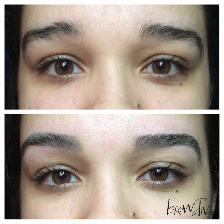 Transforming The Perfect Brow Shape Brow Diva