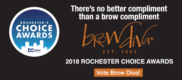 Vote for Brow Diva for Rochester's Choice Awards