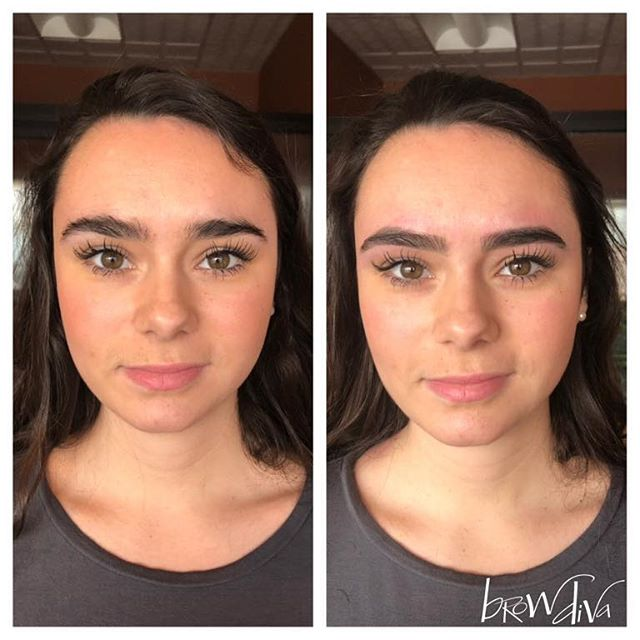 "Out of town NEW Client alert 🚨 Brooke drove all the way from Morristown to get ""Diva'd"". Check out her beautiful, freshly sculpted brows by the Diva!  Thank you Brooke for coming in ❤️ #brows#browdiva#rochesterny#pittsford#fresh#eyebrows#eyebrowshaping#natural"