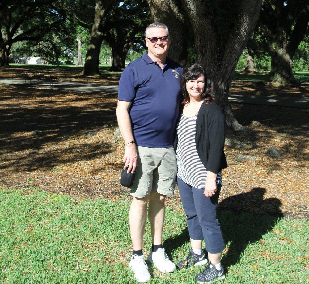 Jeff and Tina Robinson