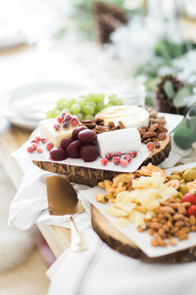"IN ENTERTAINING  ::  ""FARMHOUSE STYLE WINTER WONDERLAND PARTY"" WITH FRITO LAY & GLITTER INC"