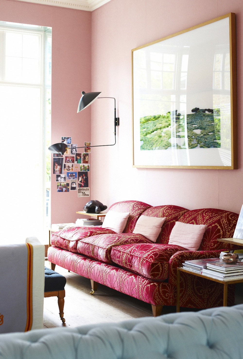 Found in Ahalogy Muse:   12 Pink Rooms to Crush On  , Thou Swell