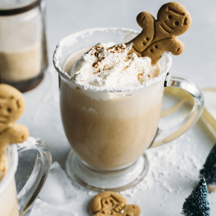 Gingerbread Milk Punch