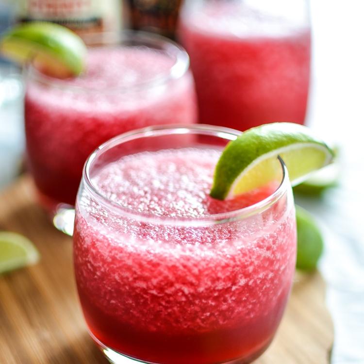 Hibiscus Beer Margaritas by Cooking And Beer