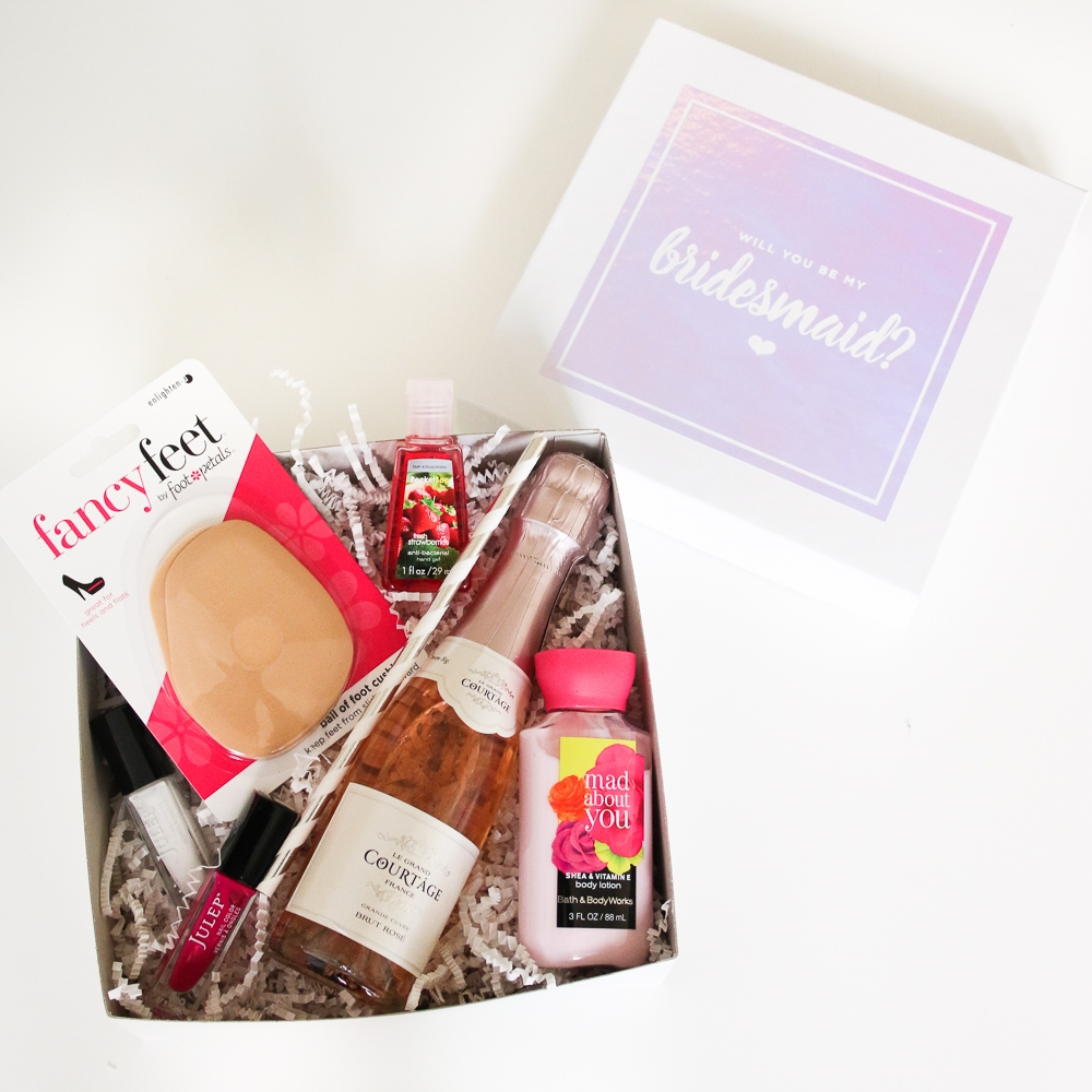 DIY Bridesmaids Boxes by The Budget Savvy Bride