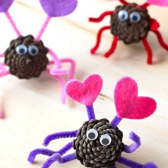 20 Valentines Kids' Crafts