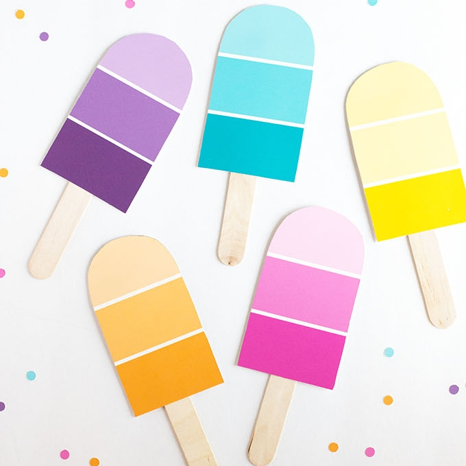 DIY Popsicle Party Invites