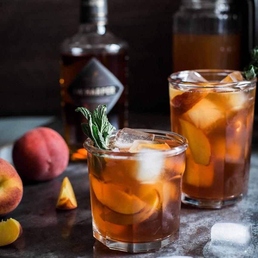 Peach & Bourbon Arnold Palmer