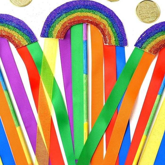Rainbow Glitter Arts & Crafts