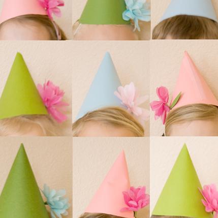 DIY Flower Party Decor