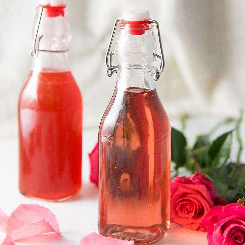 Vanilla Rose Syrup