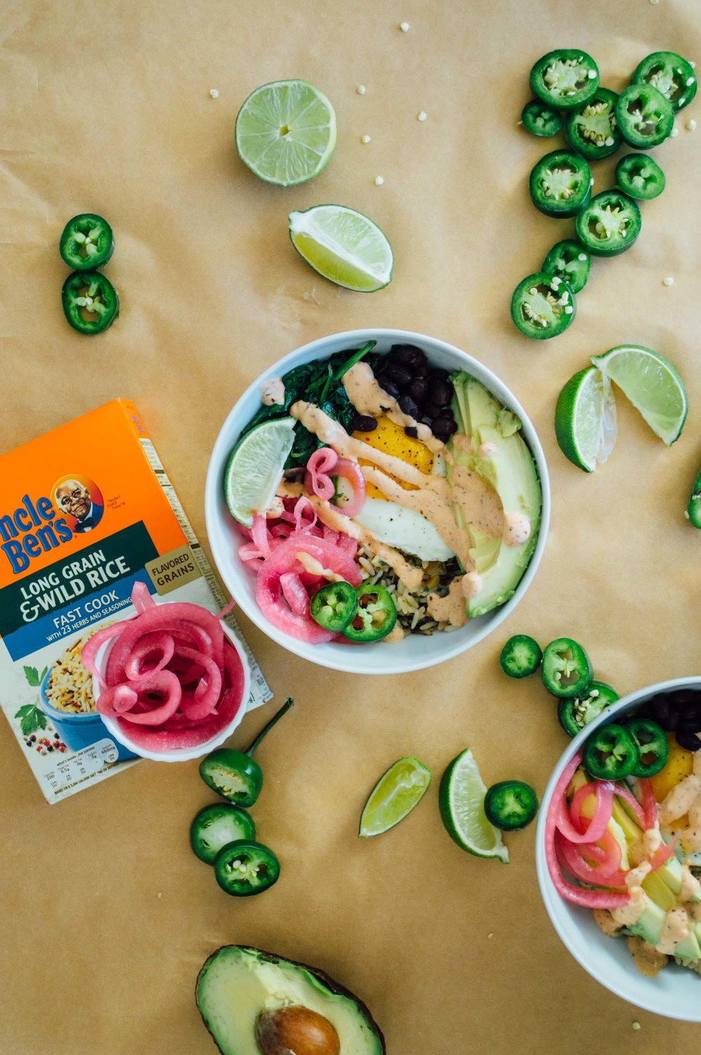 In partnership with Uncle Ben's®   Spicy Breakfast Power Bowls