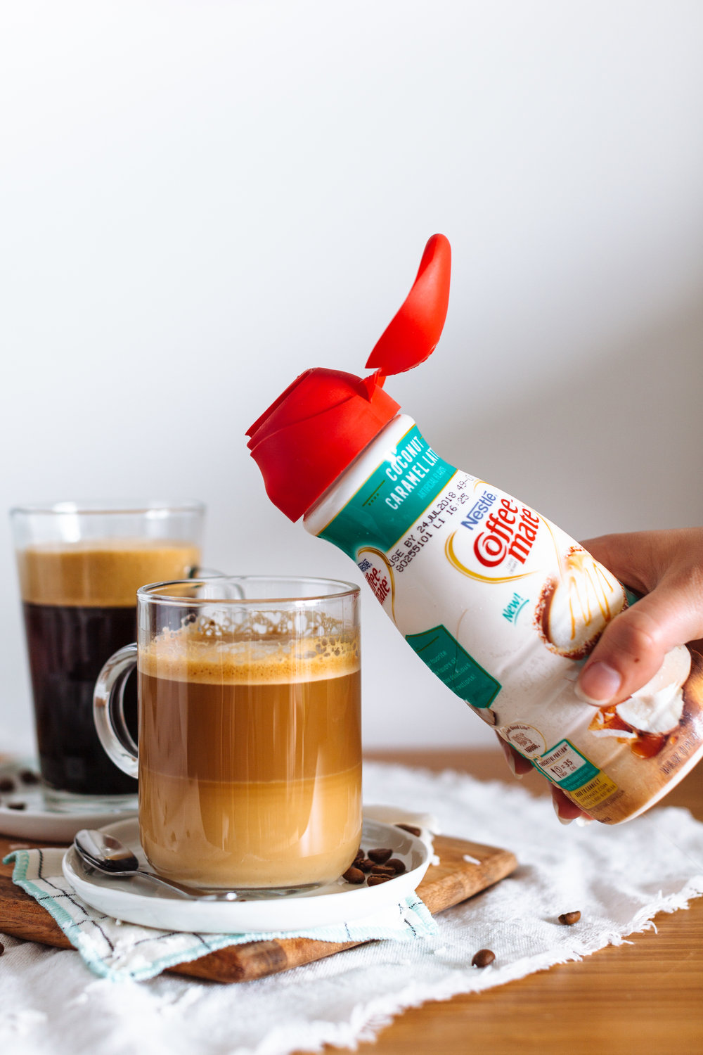 In partnership with Coffee-mate® Creamer  |  A Gal Pal Coffee Date
