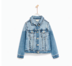 zara//basic denim jacket