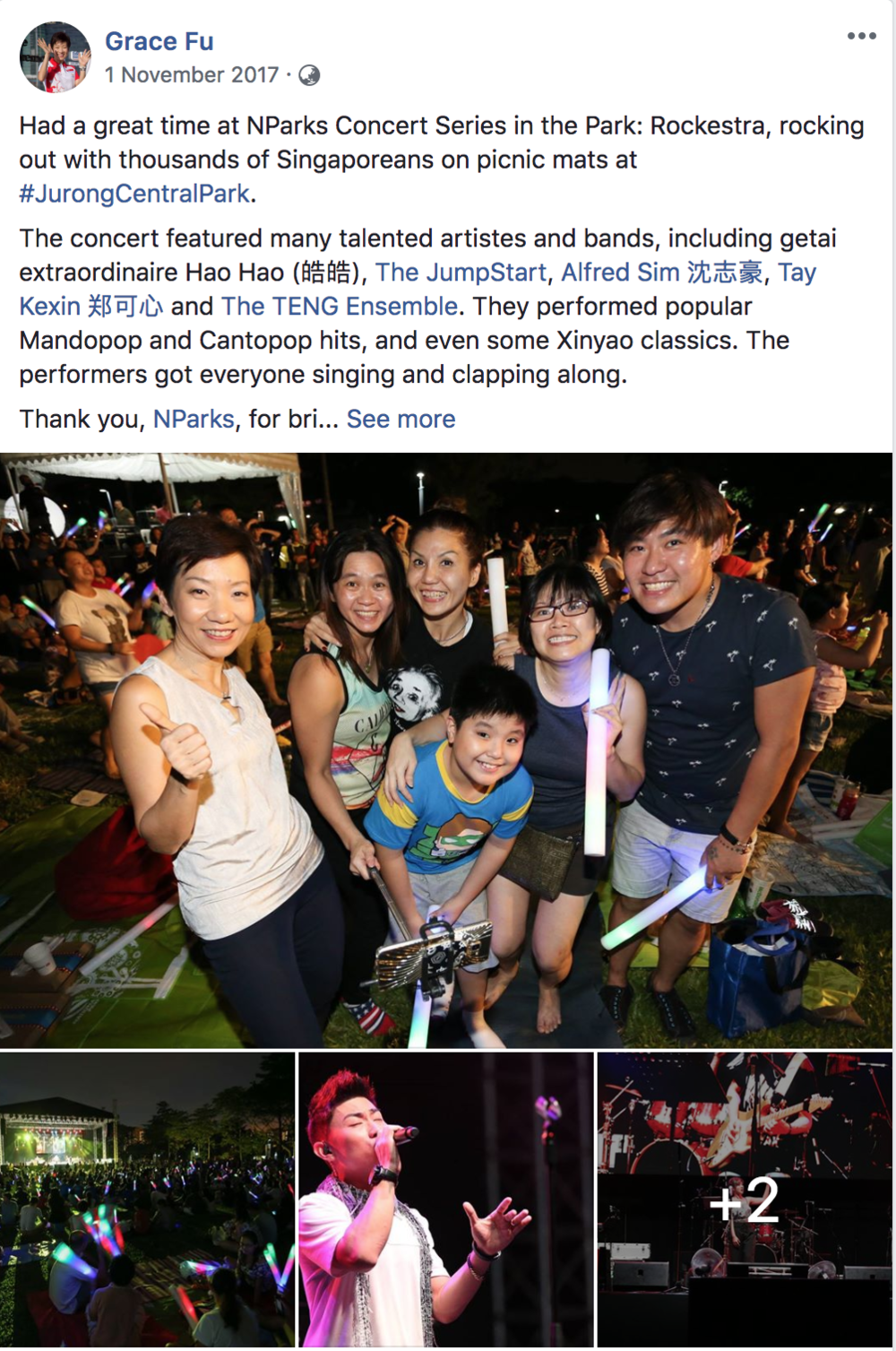 Editorial Content for Singapore's Minister for Culture, Community and Youth, Grace Fu.