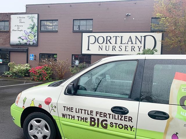 The GROW van is out and about making deliveries! Today's stop 👉 Portland Nursery  If you see the GROW van out and about, safely capture a picture and post it using the hashtag #SeeGROWGo to be entered to win a GROW goodie basket! 🌱
