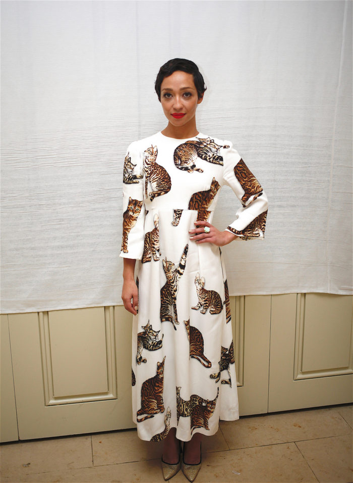 ruth-negga-press-conference-loving-dolce-gabbana-printed-cat-lady-round-neck-dress-700x956.jpg